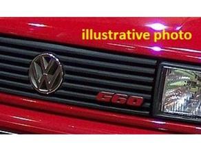 vw corrado g60 logo front grill car corrado front front batch grill volkswagen vw corrado