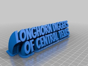 longhorn garimpeiros central texas office personalizado