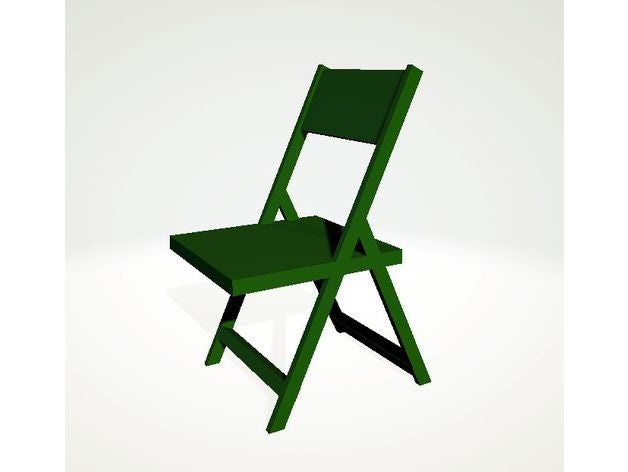 folding chair scale 1 15