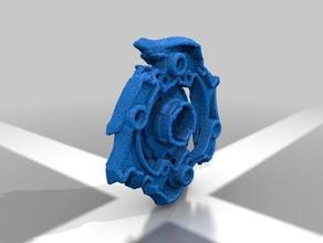 z achilles a4left spin hasbro standart beyblade burst 3d printing