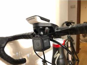 gopro mount garmin out-front mount sport & outdoors edge 520 garmin gopro gopro hero session handlebar mount
