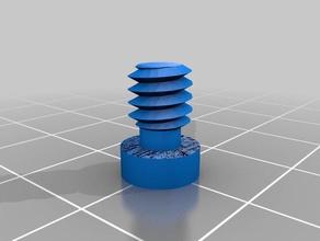 zoom h1 mic mount + articulating arm mount kogan monitor stand 3d printing