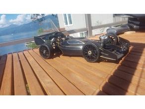 rc buggy speed run f-1 conversion mugen mbx-6 eco fit almost all 8th scale buggys minimal modifications 3d printing arma buggy hobby hpi losi mbx mugen ofna lx2 road open open rc openrc f1 rc car red cat speed run team associated tekin traxxas x ray