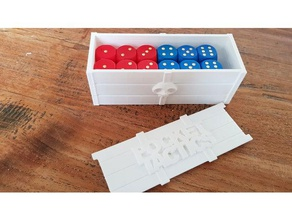 dice chest toy & game accessories box chest crate dice dice chest dice box dice tray pocket tactics storage box treasure chest
