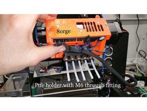 mmu2 ptfe holder m6 passthrough adapter 3d printer parts mmu2 mmu20 mmu2s prusa i3 mk3s mmu2s prusa i3 mk3 mmu2 prusa mk3 mmu2 prusa mmu2 prusa mmu2s