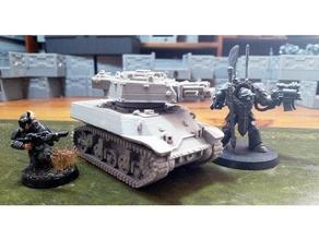 imperial guard siegfried light tank proxy vehicles armor armour imperial imperial army imperial guard interstellar imperial interstellar army light tank siegfried tank