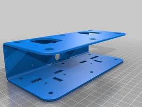 ryobi battery dual holder wider version 3d printing ryobi ryobi 18v ryobi battery ryobi mount ryobi one