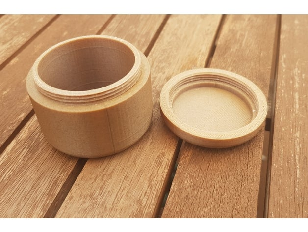 threaded pot containers