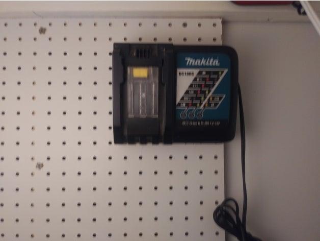 makita peg board charger