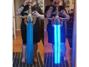 light-up she-ra sword remixed polymath314 props cosplay cosplay prop cosplay weapon she ra she-ra shera