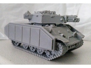 imperial guard siegfried proxy armoured skirts v1 vehicles armor armour imperial imperial army imperial guard interstellar imperial interstellar army light tank siegfried tank tanks