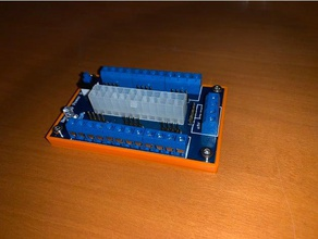 simple benchtop power board pcb cover electronics atx power supply benchtop benchtop power supply pcb holder