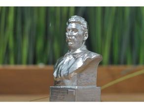 stalin busto gorki leninskiye museo persone 3dprintable il busto dlp fdm la georgia testa storia massivit in miniatura museo foto la fotogrammetria politica russia la scultura sla sls stalin statua urss ww2 la seconda guerra mondiale
