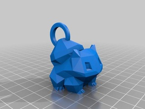 bulbasaur llavero La impresión en 3d