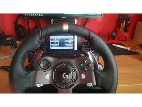 logitech g29 g920 ruota telefonico modulare del monte video giochi assetto corsa dashboard g25 g27 g29 g920 logitech il logitech g25 logitech g27 logitech g29 logitech g920 modulare project cars simhub simulatore