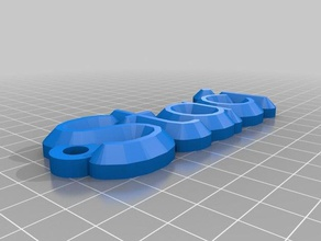 staci key chain organization customized