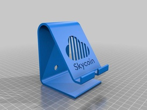 skycoin phone stand office bitcoin cryptocurrency phone stand skycoin