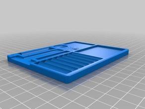 lock pinning tray spv1 tool holders & boxes dissassemble dissassembly loacksmith lock lockpicking locksport padlock pinning pinning tray pins tray
