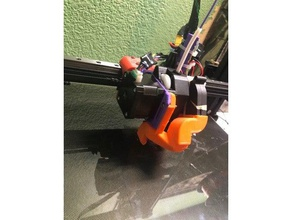 wanhao d9 bmg+e3d v6 part cooler 3d printer extruders duplicator 9 maker pri mk1 wanhao wanhdo d9