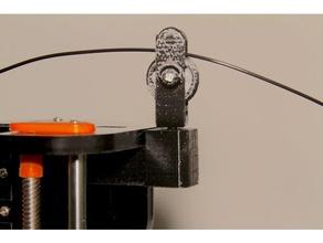 a8 roller bearing filament guide 3d printer accessories anet a8 bb bearing filament guide frame guide