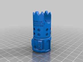 airsoft surefire rebar cutter flash hiders 556 762 ace airsoft ak47 ak74 cag cqb cqbr flash hider g36 m16 m249 m60 muzzle brake saw seal socom surefire
