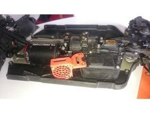 xray xb8e 30mm fan holder r c vehicles rc car xb8e xray