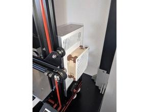 ender-3 psu cover 80mm fan 3d printer parts 80mm 80mm fan 80mm fan grill 80mm fan mount creality ender 3 ender3 ender3 upgrade fan 80mm upgrade