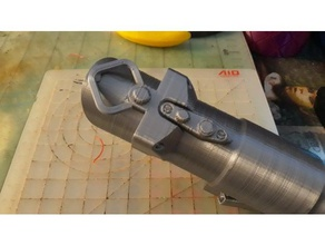 collapsing sith lightsaber removable blade