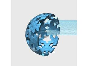 geodesic 6v hemisphere pattern 45 57 58 66 math art dome geodesic hemisphere sphere