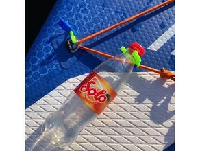 sup Flasche clip sport & im freien Flasche Flaschenhalter clip Verbindungselement Haken aufblasbares Boot aufblasbares Kajak isup im freien paddleboard petbottle Sport standuppaddel stand-up-paddleboard Wasser Wasser Flasche