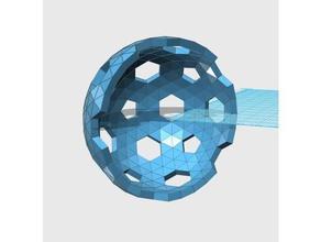 geodesic 6v hemisphere pattern 43 45 57 58 59 math art dome geodesic hemisphere