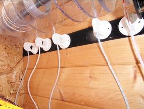 prusa mmu2 filament rewind guide 3d printer accessories autorewind auto rewind spool buffer buffer tube filament buffer mmu2 prusa i3 mk3 mmu2 reel rewinder rewind rewinder spool rewinder