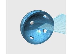 geodesic 6v hemisphere pattern 43 45 57 58 59 66 math art dome geodesic hemisphere sphere