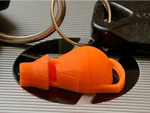 tiny loud whistle fast easy print sport & outdoors 3d printed whistle emergency whistle game whistle key ring kid whistle lady bug loud whistle sports whistle whistle