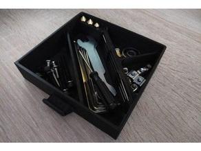 ender 3 a doppio cassetto carta inferiore di archiviazione ugelli aghi Stampante 3d accessori cassetto ender 3 porta aghi portaugello