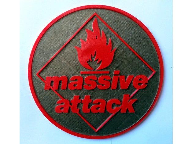 massive attack logo 2d ar