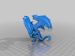 flame drake - remixed full toy & game accessories dnd drake dungeons dragons enemy monster pathfinder tabletop