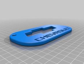 chevy keychain 3d printer accessories chevrolet chevrolet badge chevy chevy badge chevy bowtie chevy logo chevy truck