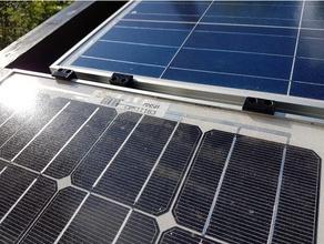 solar panel module mounting bracket -- solar panel module befestigung befestigung halter modul mounting bracket panel panel mount solar solarmodul solarmodule solarpanel solar panel