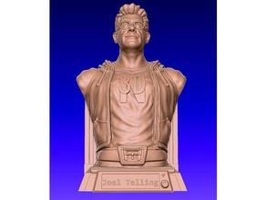 3d printing nerd - joel telling bust art 3dprinter 3dprintingnerd bust joel joeltelling joel telling sculpture statue