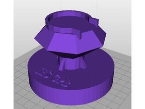 soporte para soporte witbox go filamento 1kg 3d printer accessories soporte bobinas soporte filamento 3d