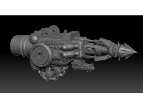 lightningrod javelin dominion crusader toys & games 28mm crusader dominion gun harpoon imperial knight mech miniature wargaming weapon