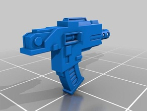 phobos pattern space soldier gun 3d printing 40k bolter horus heresy space marine warhammer warhammer 40000 warhammer 40k wh40k