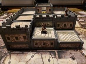 los edificios modulares zombicide la peste negra juegos