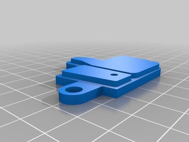 like key chain 3d printin