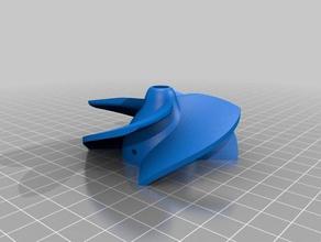 impeller 190 8mm center-hole 3mm splint-hole made diy impeller impeller jet jet drive reneeceldesign water jet water jet drive