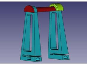 spool holder bq witbox 2 3d printer accessories bq witbox bq witbox 2 filament filament spooler filament spool holder soporte bobinas soporte filamento 3d soporte filamento w2 soporte witbox spool spooler spoolholder spool holder