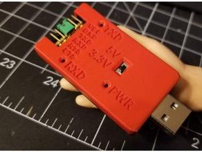 usb ftdi adapter case - pin labels electronics ftdi