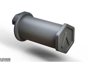 raise3d n2 spool holder - 60mm spools 3d printer parts filament spool holder raise3d raise3d n2 raise3d n2 plus raise3d pro2 spool holder