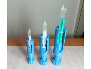 syringe screw feeder hand tools doser microscopy screw syringe syringe extruder syringe holder syringe pump